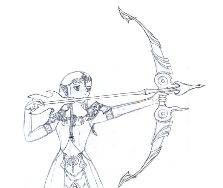 The princess Zelda by Shaera-Inverse on DeviantArt