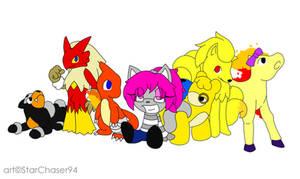 Courtney's Pokemon