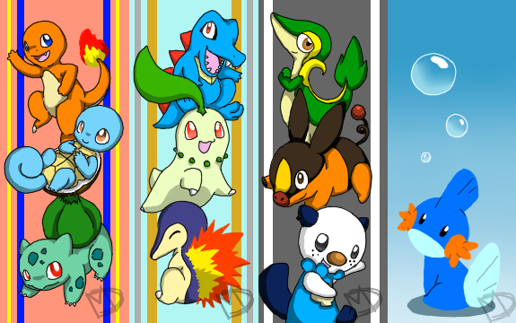 pokemon bookmarks by starchaser94