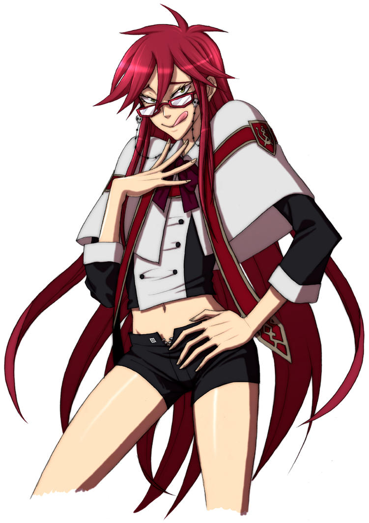 KRAITH THE HIPSTER Grell_Sutcliff_by_Quere