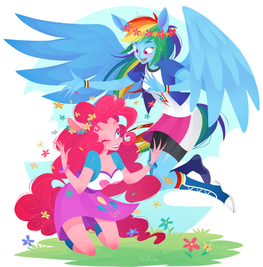 MLP: dash/pinke by Quere