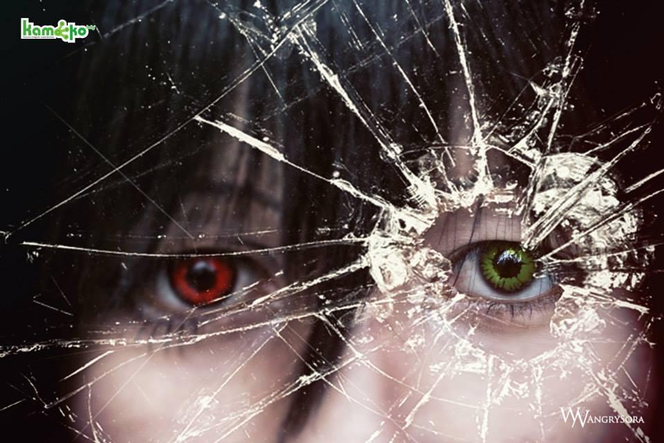 Mei Misaki_eyes_cosplay by shionwanijima