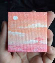 Lion's Mane Miniature Painting by Maune1998
