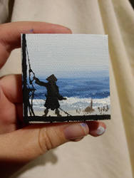 Jack Sparrow Miniature Painting by Maune1998