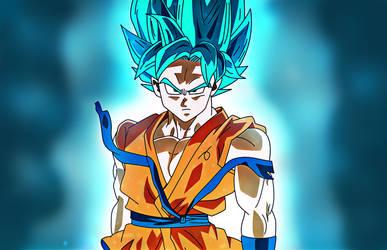 Super Sayan Blue (Super Sayan God Super Sayan)