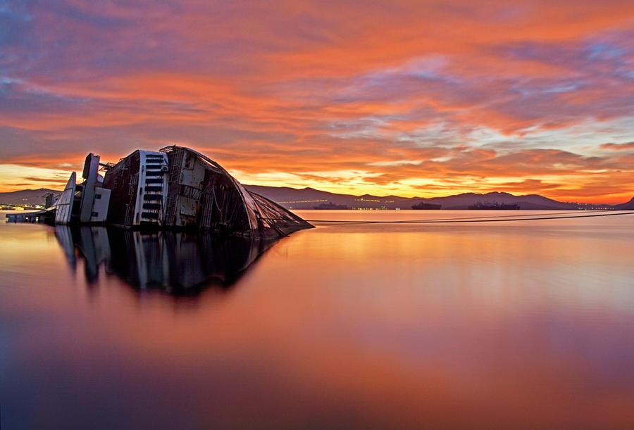 shipwreck I by ouzo-portokali