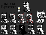 The Cat Puppeteer sprites by OmegaMKII