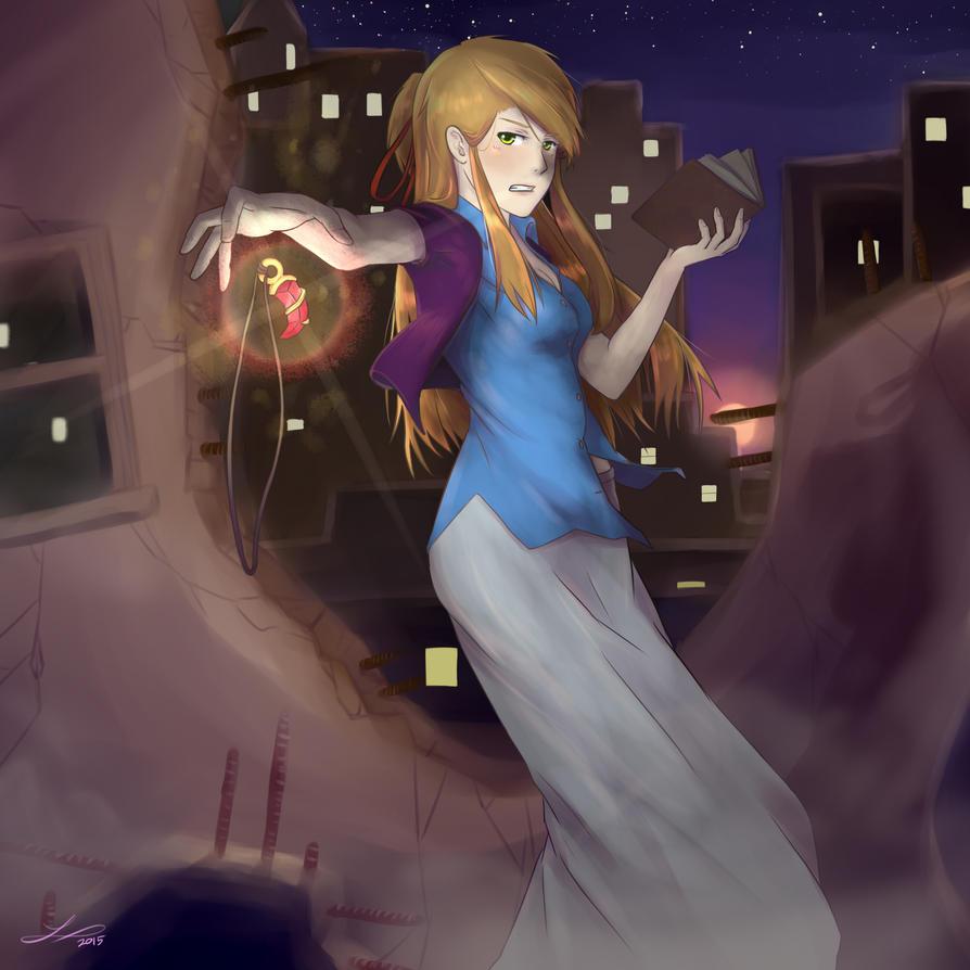 Alicia Magic by ElleranS