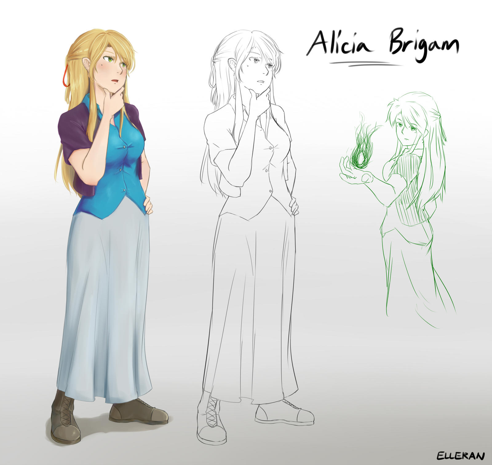 Alicia Reference [updated] by ElleranS