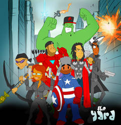 The Yard - Avengers Assemble!