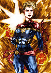 Captain Marvel collors Josh-84