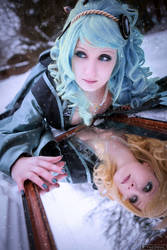 Angel Sanctuary - Jibril x Sara