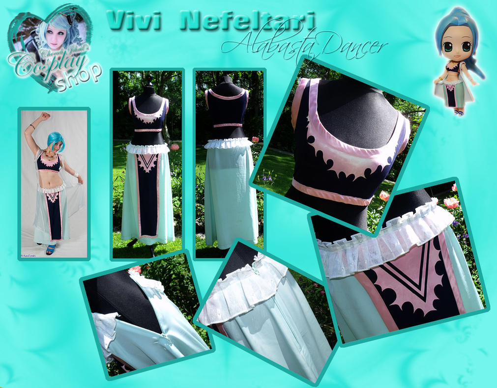Vivi One Piece Cosplay SOLD by Jibril-Cosplay