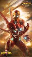 Ironman Wallpaper ( the infinity war version )