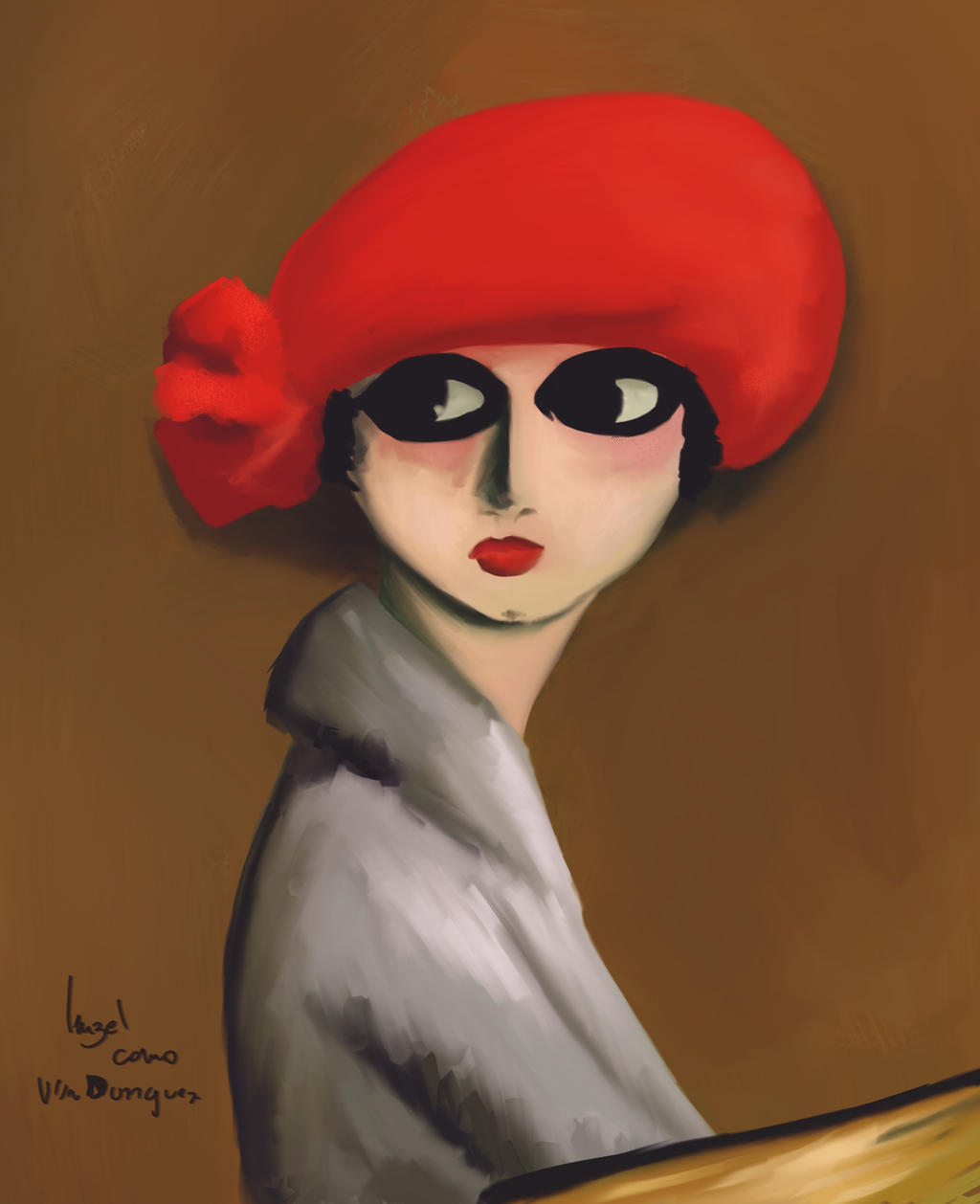 Red Painting High Quality