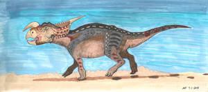 Einiosaurus by MsMergus
