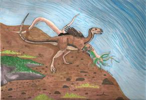 Heterodontosaurus Tucki by MsMergus