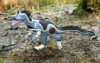 Cryolophosaurus Sculpture by Weird-Duck