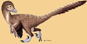 Deinonychus Antirrhopus by MsMergus
