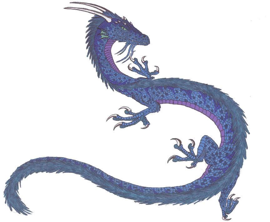 Korean Dragon: Blue Korean Dragon By SlateGray On DeviantArt