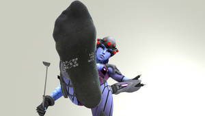 Widowmaker's Black Socks - Overwatch