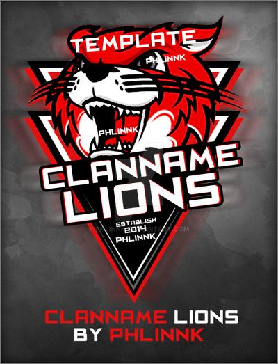 Template Gaming Logo by PHLiNNk on DeviantArt