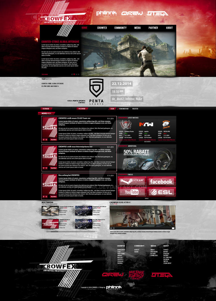 CROWFEX Design 2014/2015 by PHLiNNk