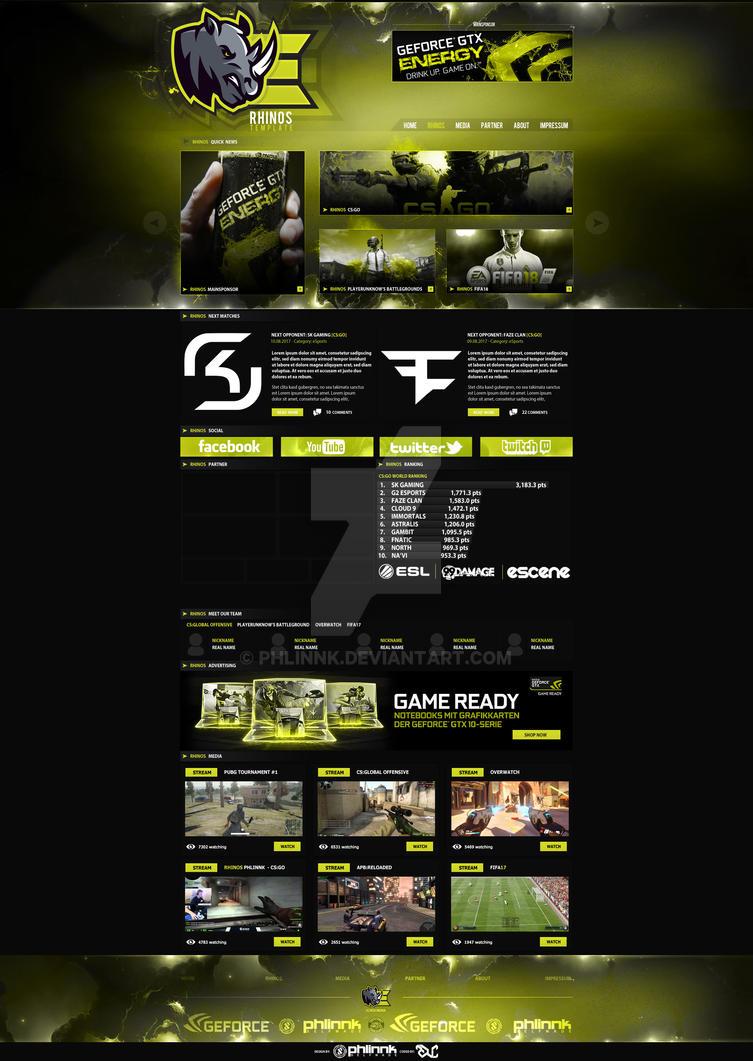 Rhinos eSports Layout by PHLiNNk