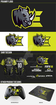 Rhinos Logo Brand