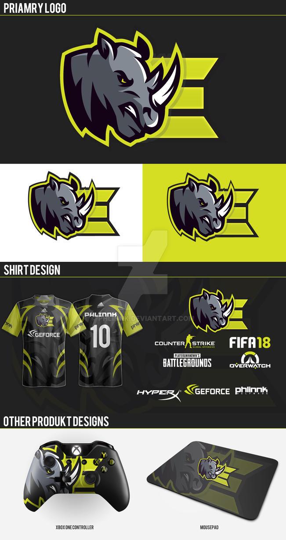 Rhinos Logo Brand by PHLiNNk