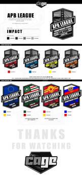 APB League Logos