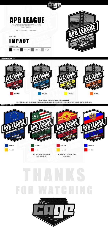 APB League Logos by PHLiNNk
