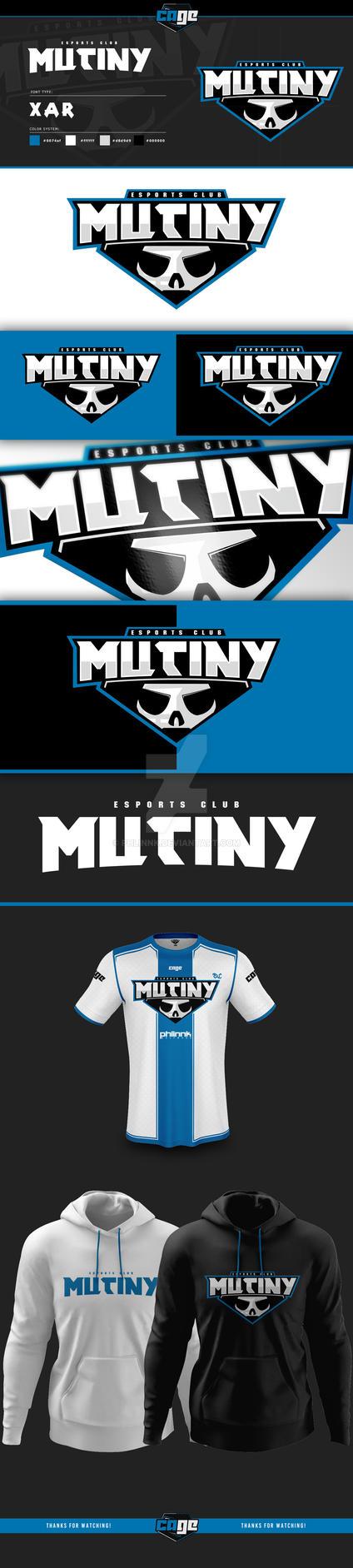 eSports Club Mutiny Logo Project by PHLiNNk