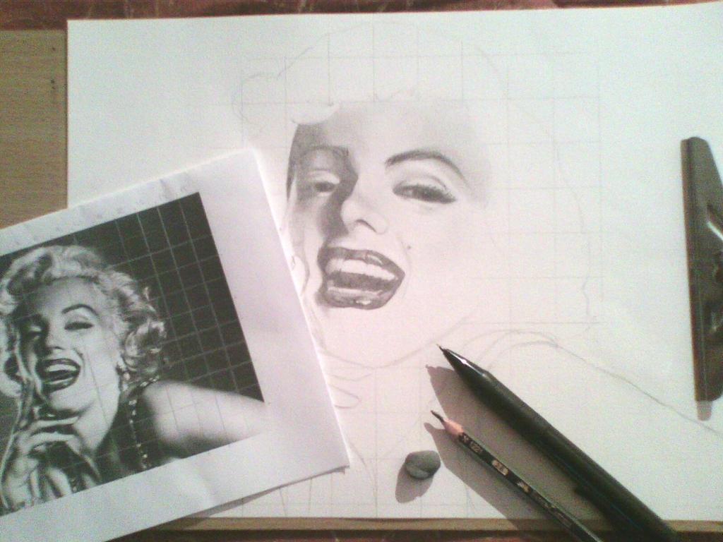 Marilyn WIP by LuLu242