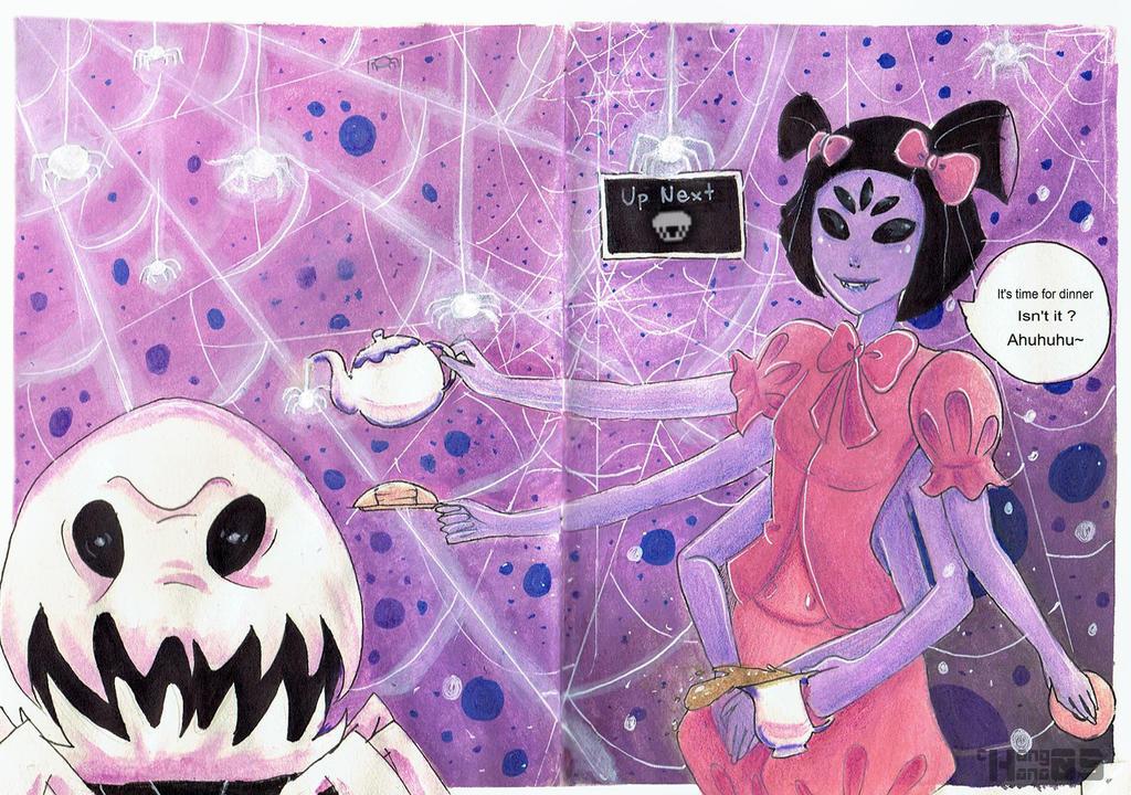 Spider Muffet .:UNDERTALE:. by chang05hana