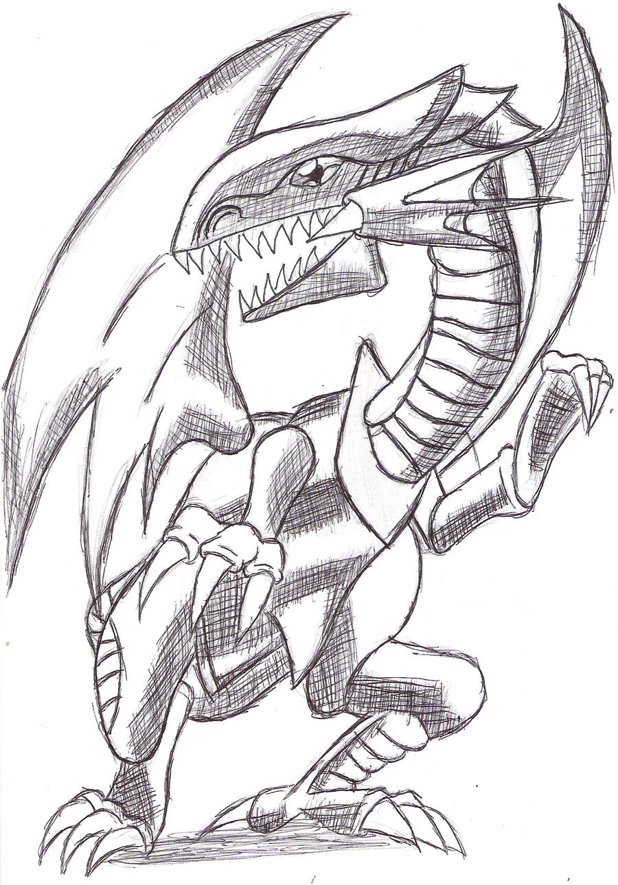 Blue Eyes White Dragon By 0theslayer Blue Eyes White Dragon By 0theslayer  How To Draw Blueeyes
