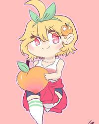 Hopeless Peaches fanart