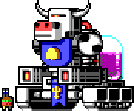 WIP Bun Lord Boss Sprite by zrrion