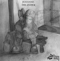 Jehanne the sniper by aoleitao