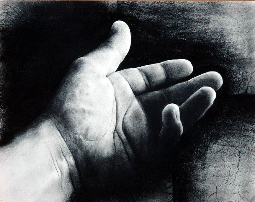 THE HAND (Self Portrait) by gtsmover