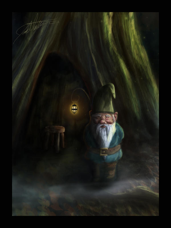 Gnome Crop by Such-A-Dreamer