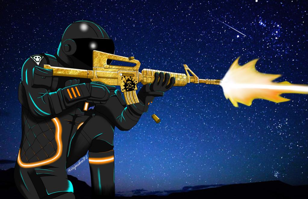 Fortnite Dark Voyager By Itsjuskev On DeviantArt