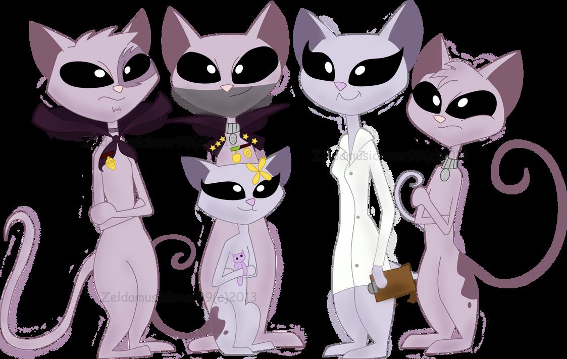 Mr. kat Family by Zeldamusiclover99