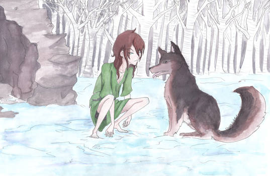 Daine and Brokefang