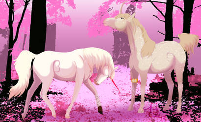 Under the Sakura Blossoms by amalthea2010