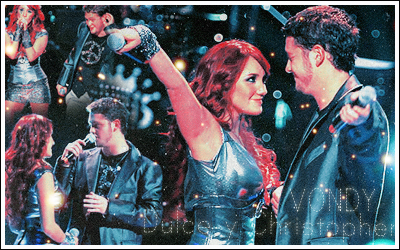 Dulce maria y christopher by detectivemaya