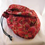Poinsettia Gift Bag