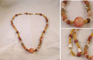 Desert Mesa Necklace by ErrantDreams