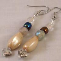 Vintage-look earrings by ErrantDreams