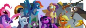 Twilight Sparkle Princess and friends